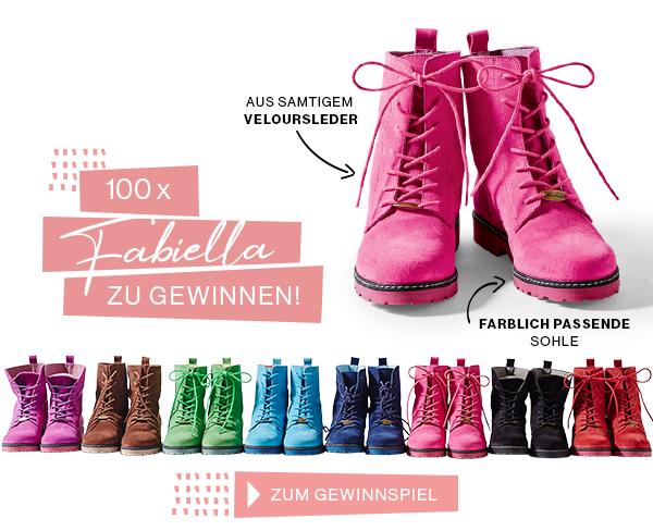 100x Fabiella gewinnen!